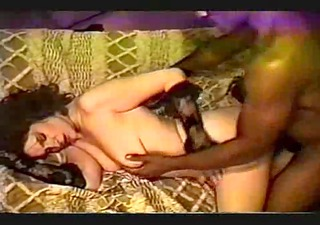 vhs of a white wife &; black lover in a hotel