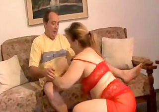 obese older fucking by her husband