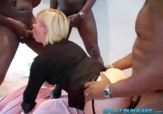 big black pounder anal gangbang party