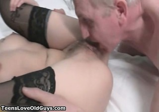 nasty blonde girl goes eager
