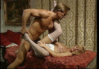 husband and wife make love to each other