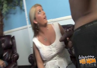 mature mother fucked by bulky darksome cock hard