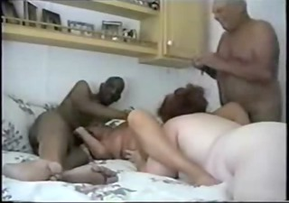 old pervert lesbo grannies having enjoyment with