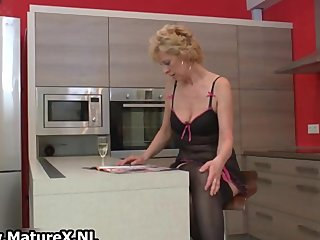 blonde aged wife in darksome stockings part8