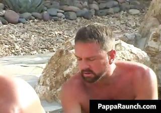 sexy body sexy men receives his white part6