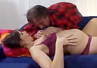 prego wife fucks ally of her husband preggy preg