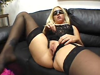 spouse watching his mask wife fucked by a